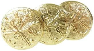 Azzaro Vintage Loris Gold Metal Pins & brooches