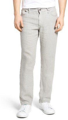 Men's John Varvatos Collection Authentic Linen Five-Pocket Pants $158 thestylecure.com