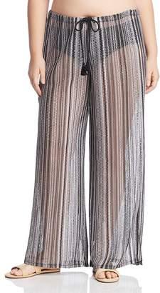 Becca by Rebecca Virtue BECCA ETC by Rebecca Virtue Becca Etc. Plus Pierside Crochet Swim Cover-Up Pants