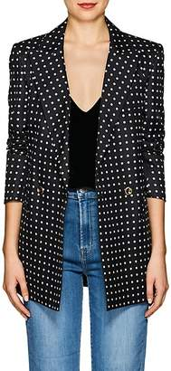 BLAZÉ MILANO Women's Everyday Polka Dot Silk Blazer