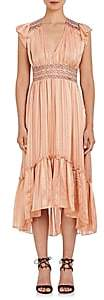 Ulla Johnson WOMEN'S AGATHA SILK MIDI-DRESS