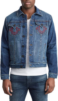 Mens Embroidered Denim Shopstyle