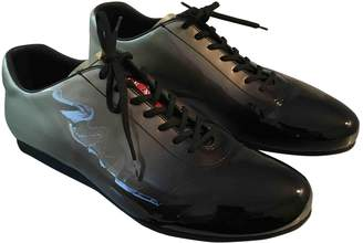 Prada Patent leather lace ups