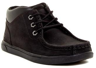 Timberland Groveton Moc Toe Chukka Boot (Little Kid) $70 thestylecure.com