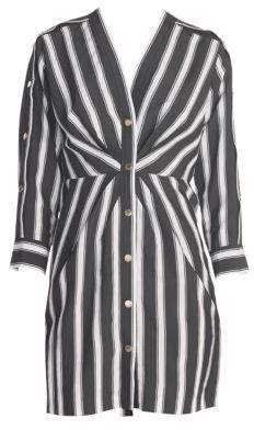 Sandro Women's Camelia Striped Sheath Dress - Black - Size 42 (10)