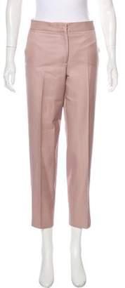Salvatore Ferragamo Mid-Rise Straight-Leg Pants