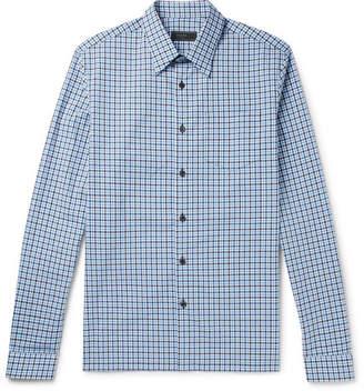 Prada Checked Cotton Shirt