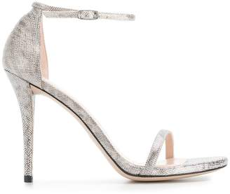Stuart Weitzman textured sandals