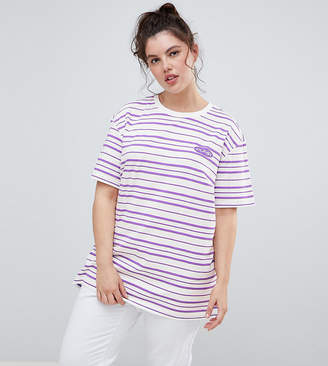 Puma Plus Exclusive Organic Cotton 2 Tones Stripe T-Shirt