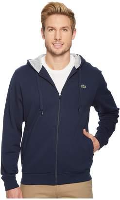 Lacoste Full Zip Hoodie Fleece Sweatshirt Men's Sweatshirt