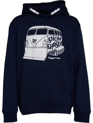 Kangaroo Poo Boys Snow Chaser Fleece Hoody Navy