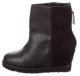 Australia Luxe Collective Leather Wedge Ankle Boots