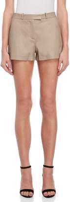 Emilio Pucci Leather Stretch Shorts