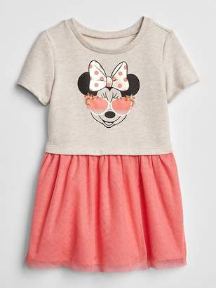 Gap babyGap | Disney Minnie Mouse Mix-Fabric Dress