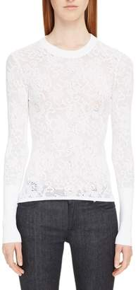 Givenchy Lace Effect Pullover