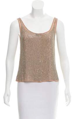 MLV Sleeveless Sequin Top