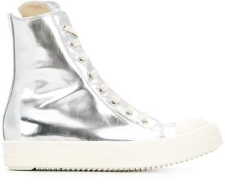 Rick Owens high top trainers