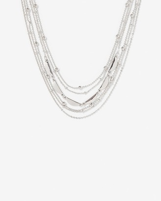 Express Beaded Multi-Row Necklace