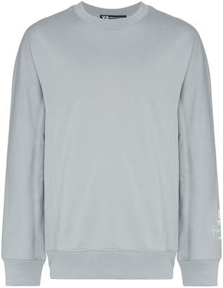 Y-3 U New crew neck cotton jumper