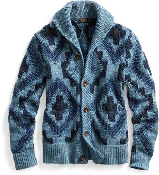 Ralph Lauren Hand-Knit Shawl Cardigan