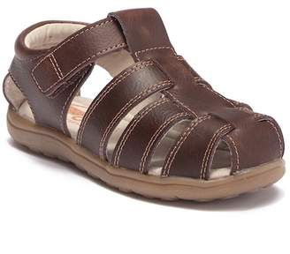 See Kai Run Jude III Brown Leather Sandal (Toddler & Little Kid)