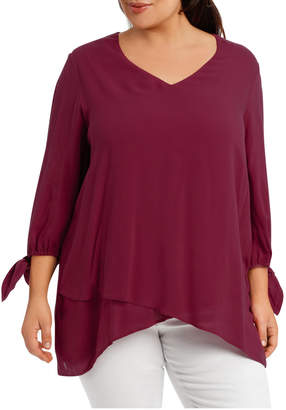Layered Asym Hem Top