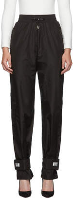 Off-White Black Strap Lounge Pants
