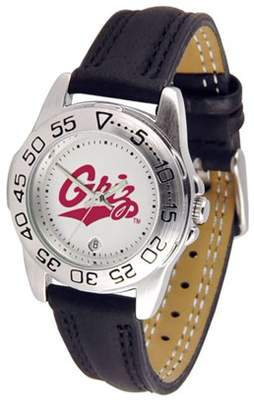 "NCAA Suntime Montana Grizzlies Sport"" Ladies Watch (Leather Band)"