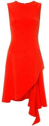 Oscar de la Renta asymmetric sleeveless dress