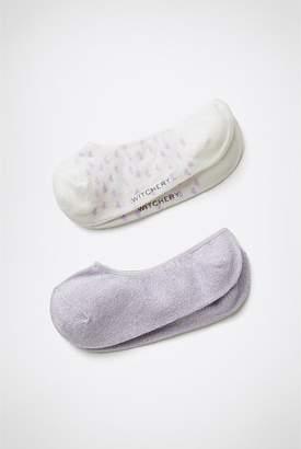 Witchery Hearts Loafer Socks