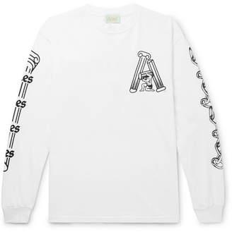 Aries Hercules Printed Cotton-Jersey T-Shirt