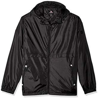 Southpole Men's Water Resistance Hooded Windbreaker Jacket