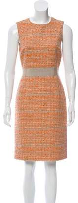 Giambattista Valli Sleeveless Tweed Dress