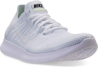 Nike Women's Free Run Flyknit 2017 Running Sneakers from Finish Line $99.99 thestylecure.com