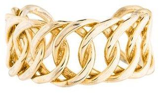 Curb Link Cuff Bracelet