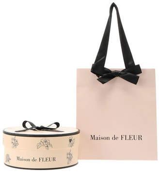 Maison de Fleur (メゾン ド フルール) - ギフト袋 ギフトBOX M【Maison de FLEUR】ピンク