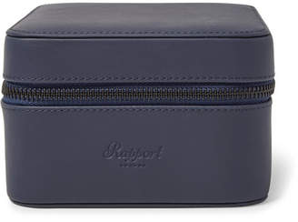 Rapport London Hyde Park Zip-around Leather Watch Box
