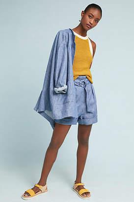Mara Hoffman Striped Linen Shorts