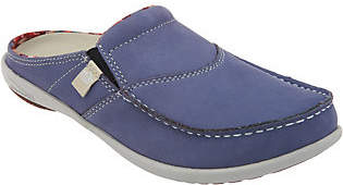 Spenco Orthotic Suede Slides- First Nation