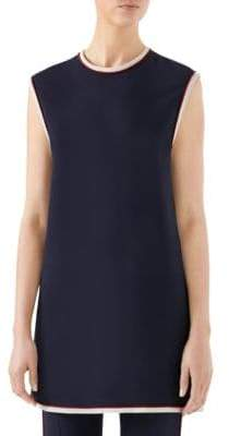 Gucci Cady Sleeveless Tunic Top