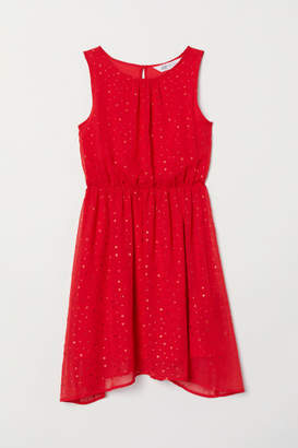 H&M Patterned Dress - Red
