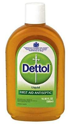 Dettol Liquid First Aid Antiseptic 16.9 oz (Pack of 8)