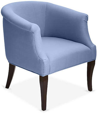 One Kings Lane Selby Club Chair - Chambray Linen
