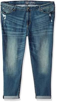 Levi's Gold Label Women's Plus Size Mid Rise Slim Boyfriend Jeans