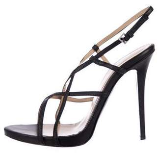 Halston Kate Leather Sandals