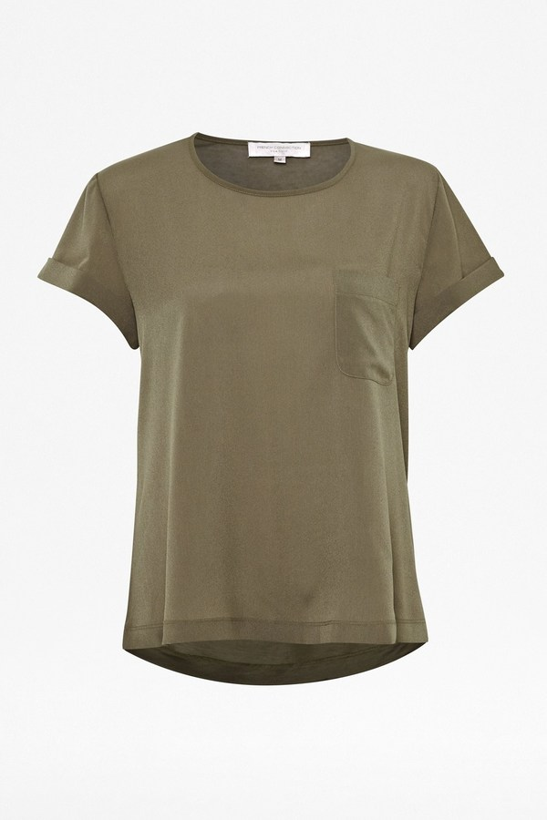 French Connection Classic Polly Plains T-Shirt