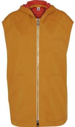 M Missoni Cotton-Canvas Hooded Vest