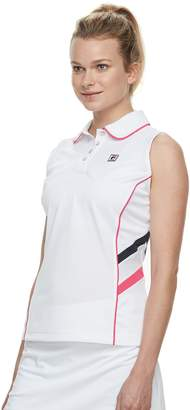 Fila Sport Women's SPORT Sleeveless Tennis Polo
