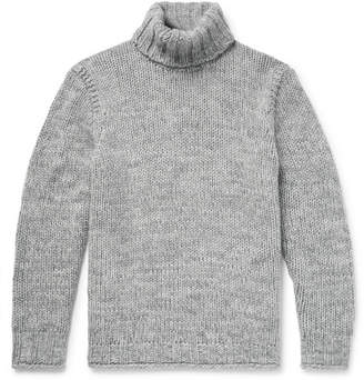 Polo Ralph Lauren Mélange Wool and Cashmere-Blend Rollneck Sweater