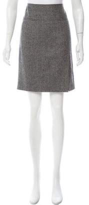 Dolce & Gabbana Tweed Wool Skirt